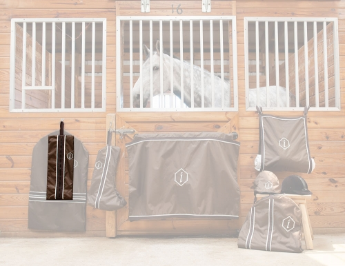 Custom Bridle Bags